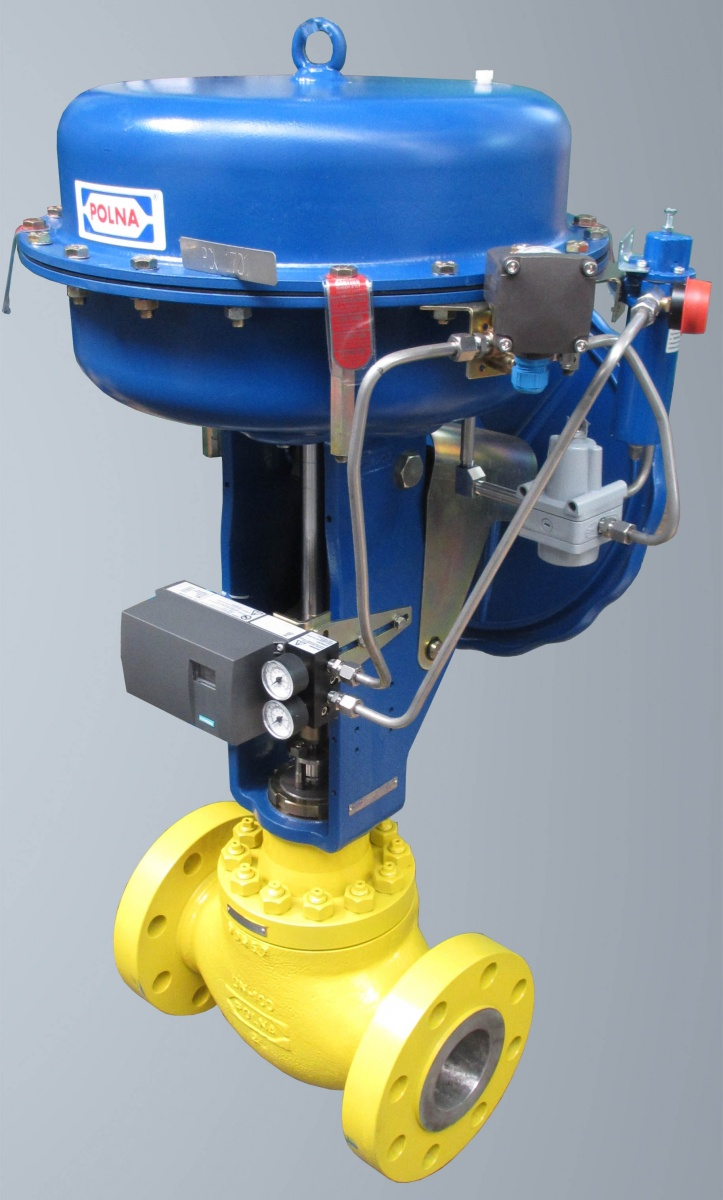 Process Equipment Installed On Control Valves