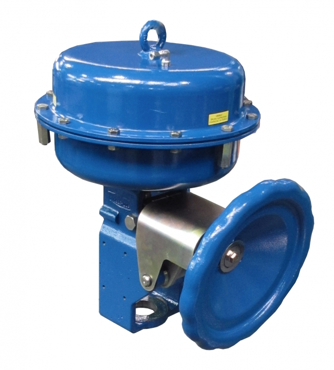 Multi-spring pneumatic diaphragm valve actuators type P1/R1 | POLNA S A
