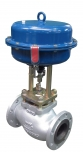 Control valve type Z Dn80 R630 with pneumatic actuator POLNA S.A.
