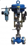 TYP Z CONTROL VALVES WITH QUICK CLOSURE CIRCUITS FOR GASES POLNA S.A.
