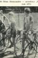 kolarze Polnej przed startem do wyścigu - 1971