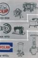 zmiany Logo i asortymentu produkcyjnego na przestrzeni lat